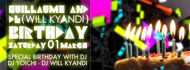 Will Kyandi Birthday Party