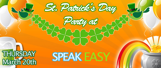 St. Patrick's Day Party!!