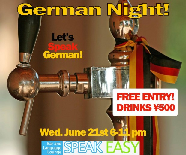 speak German, English and Japanese Otsuka